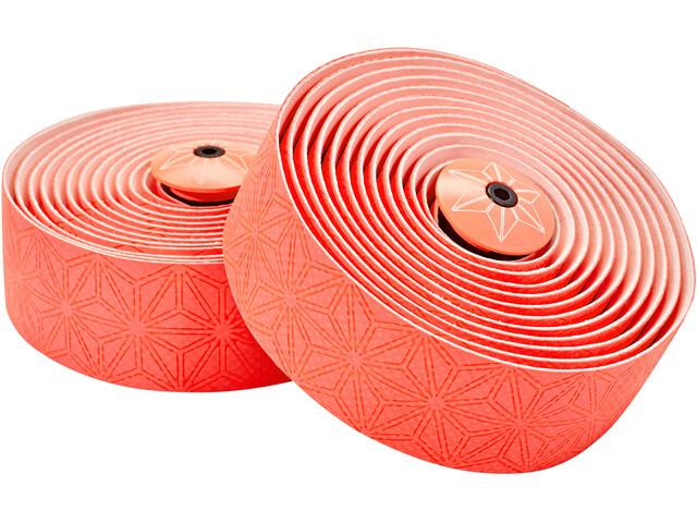 Supacaz Super Sticky Kush Starfade Handlebar Tape, coral-red